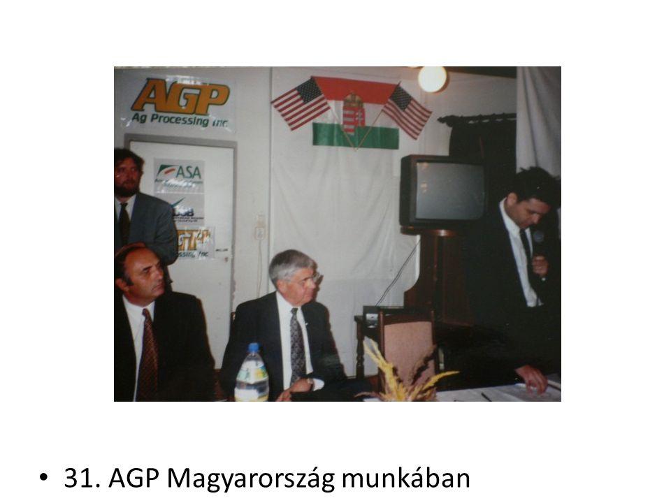 31. AGP Magyarország munkában
