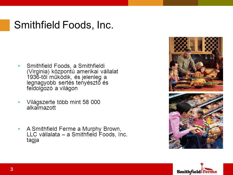 33 Smithfield Foods, Inc.