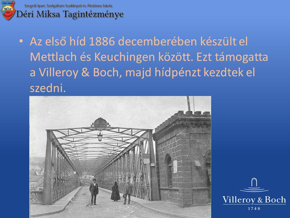 Az 1930-as években már nem volt képes megbírkózni a megnövekedett forgalommal, ezért egy újat építettek.