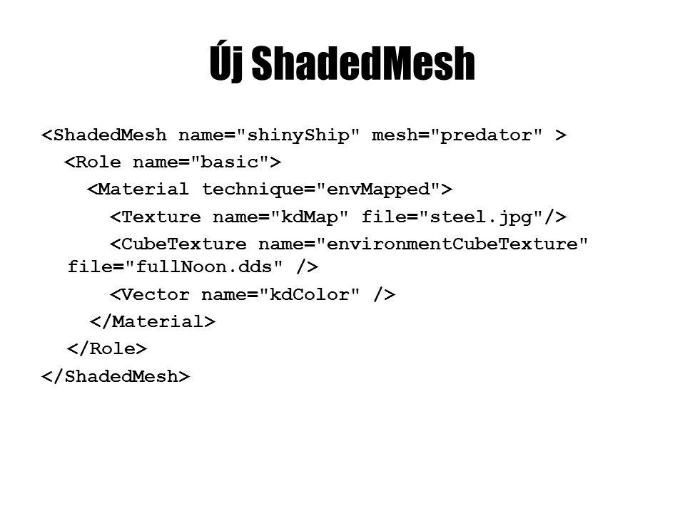 Új ShadedMesh