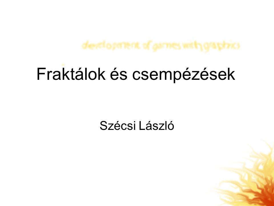 Fraktálok és csempézések Szécsi László
