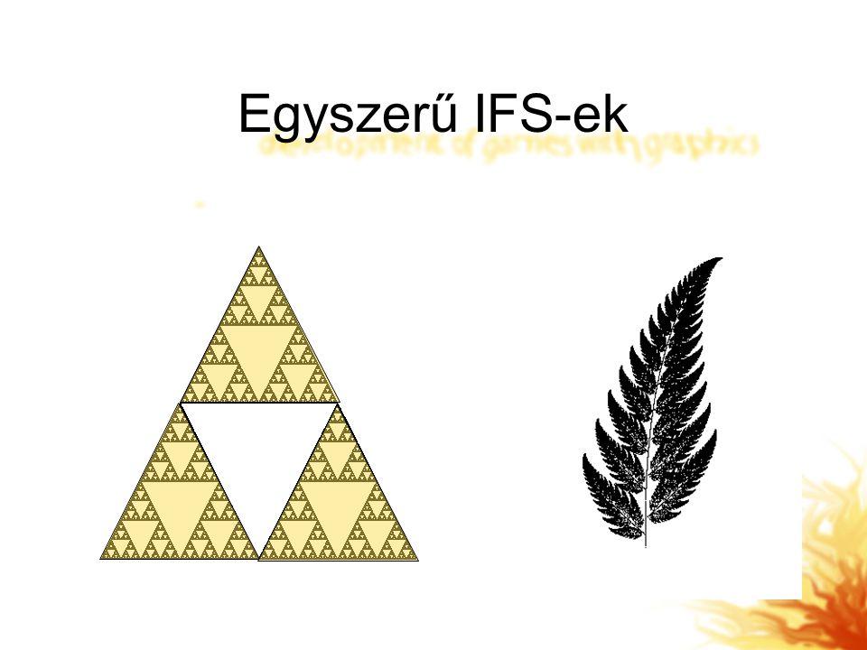 Egyszerű IFS-ek