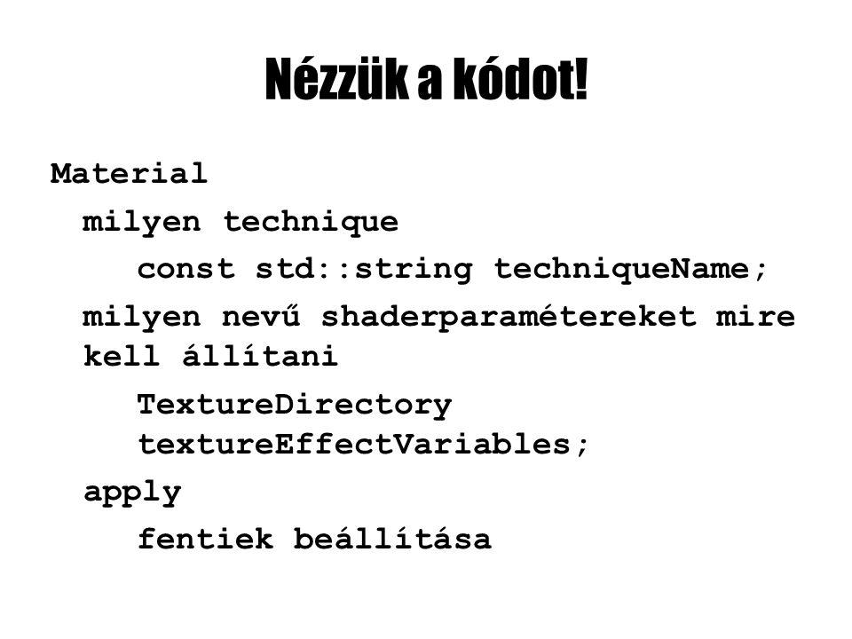 Nézzük a kódot.