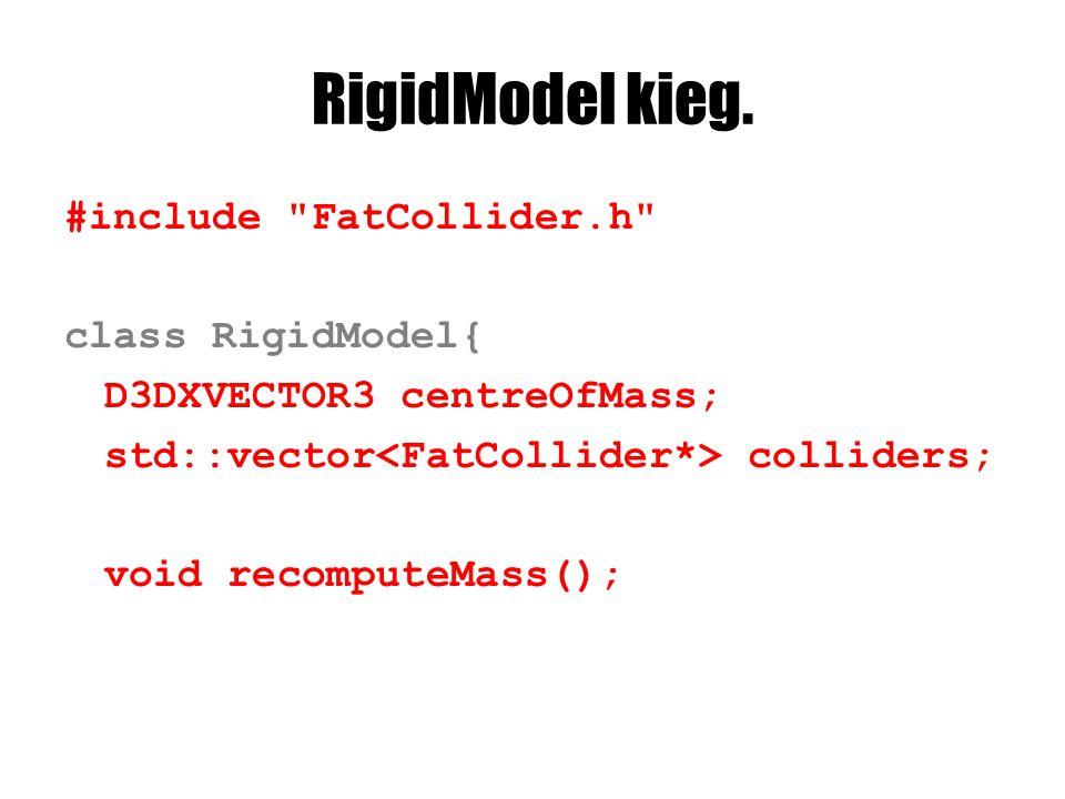RigidModel kieg. #include