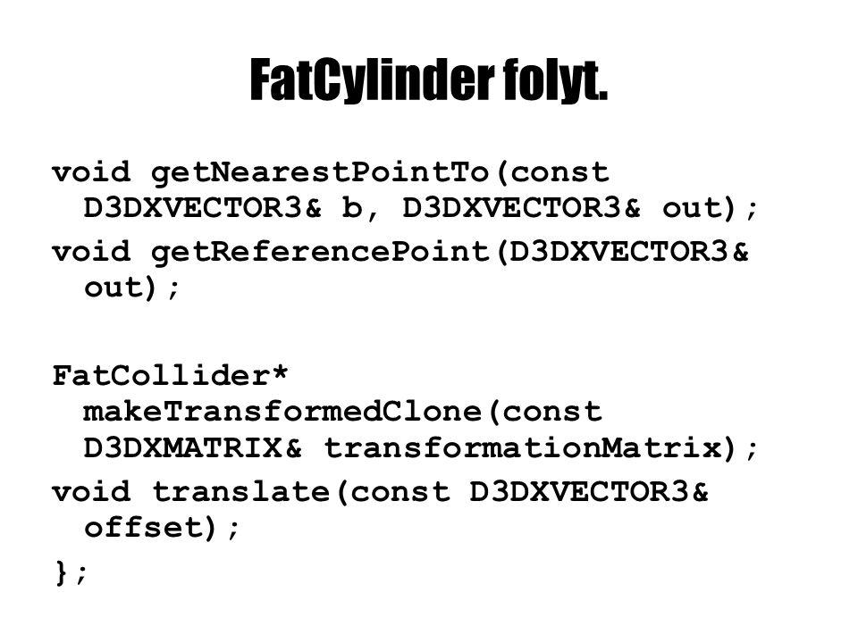FatCylinder folyt.
