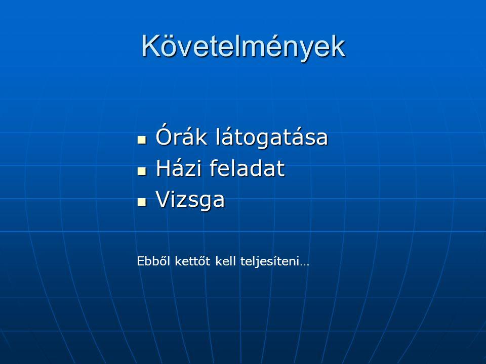 Honlap http://cg.iit.bme.hu/portal/oktatott-targyak/jatekfejlesztes