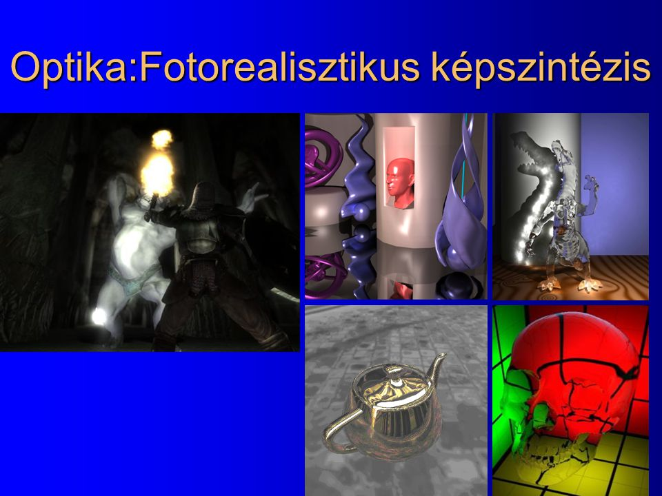 Optika:Fotorealisztikus képszintézis