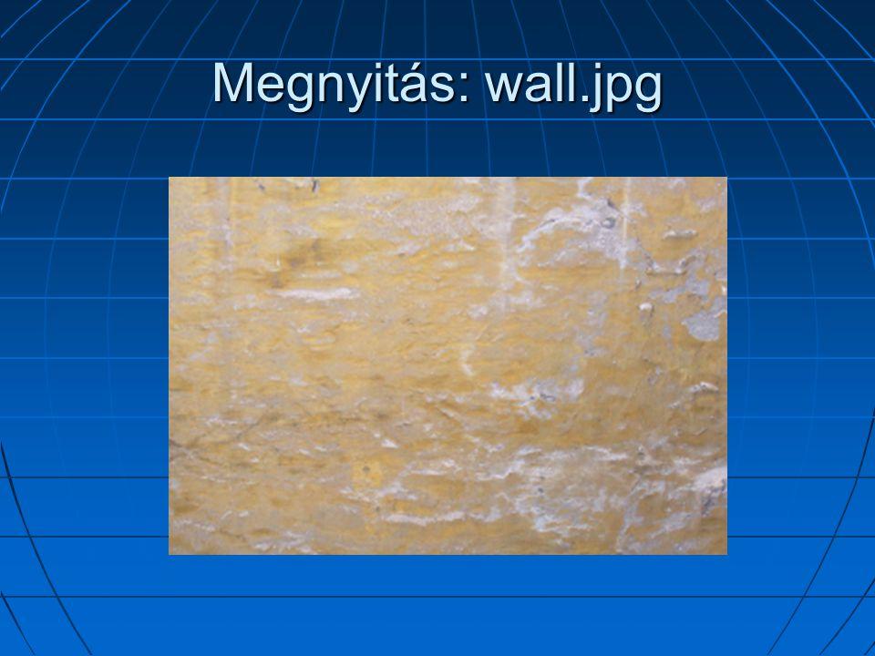Megnyitás: wall.jpg