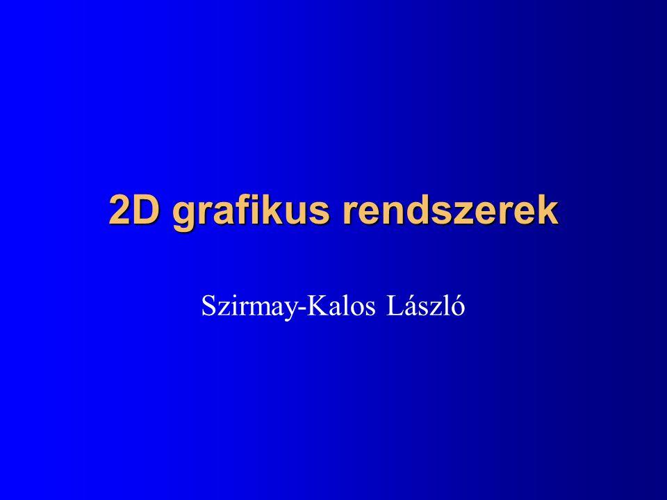 1.házi: Джугашвили spline Készítsen Джугашвили-spline-t alkalmazó rajzolóprogramot.