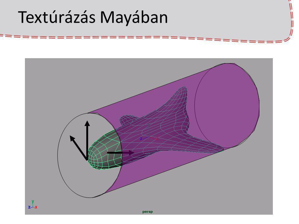 Textúrázás Mayában