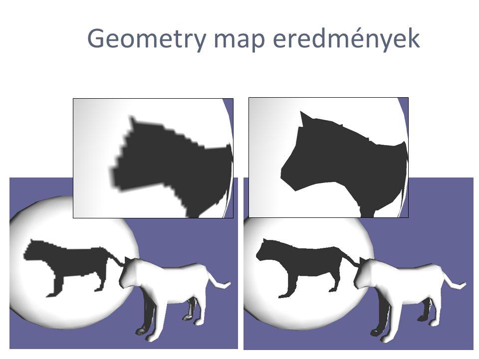 Geometry map eredmények