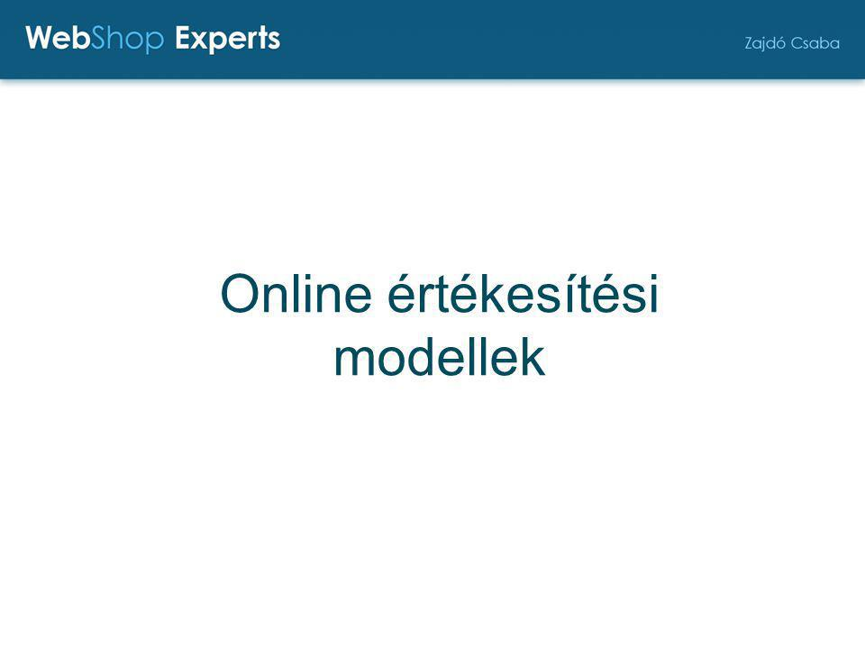Online értékesítési modellek