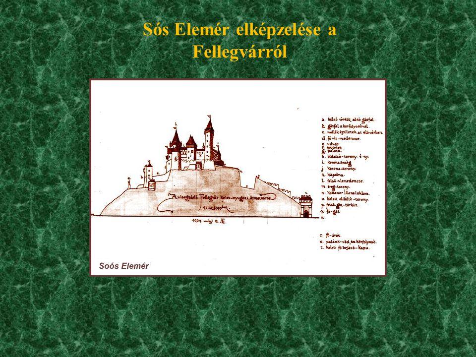 Sós Elemér elképzelése a Fellegvárról