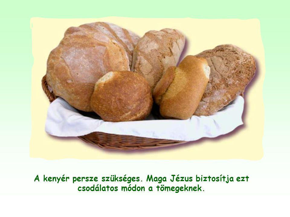 Amikor Jézus saját magára alkalmazza a kenyér képét, az azt jelenti, hogy a személye, a tanítása nélkülözhetetlen az ember lelki élete számára, ahogy