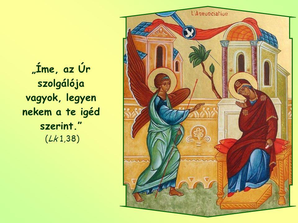Hogy terve a maga teljességében megvalósuljon, ahhoz Isten a beleegyezést kéri éntőlem és tetőled, ahogyan kérte Máriától. Csak így valósulhat meg az