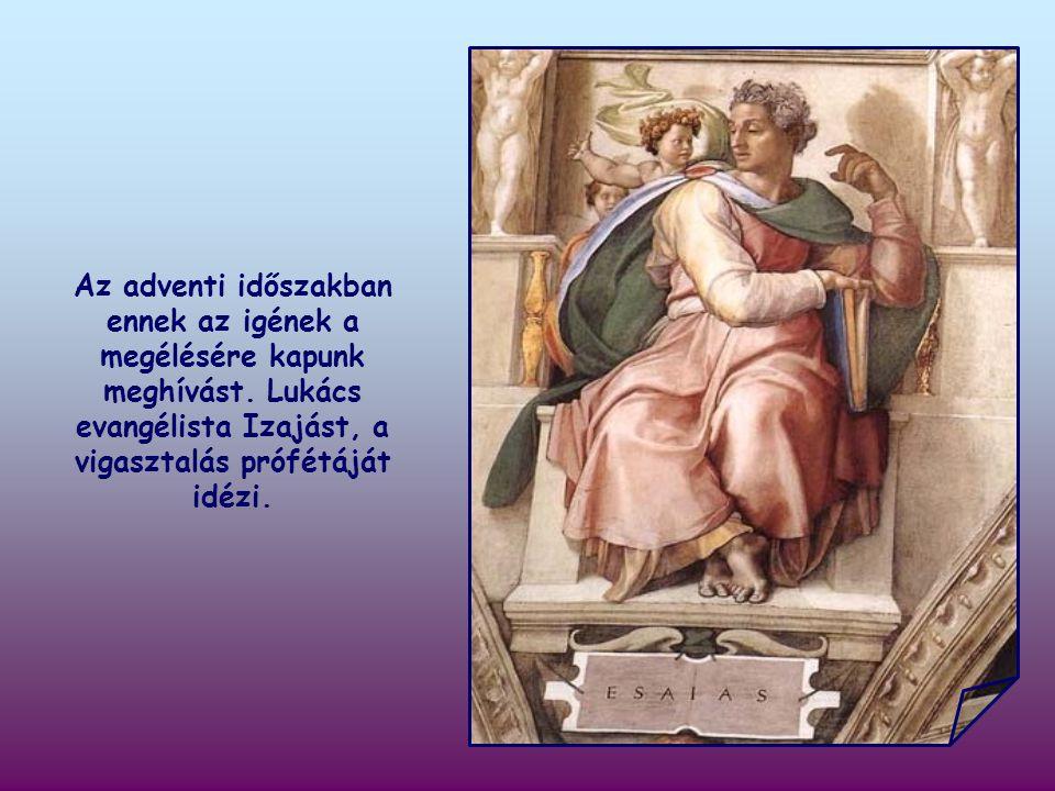 """""""Készítsétek elő az Úr útját, egyengessétek ösvényeit! (Lk 3,4)"""