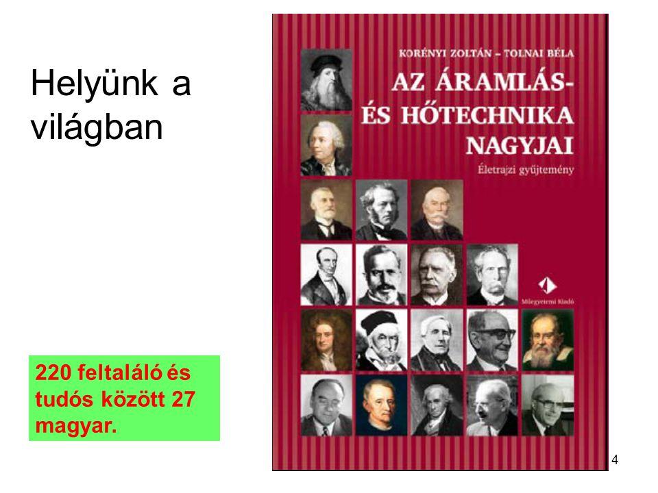 5 Az energetika nagy magyarjai  Segner J.