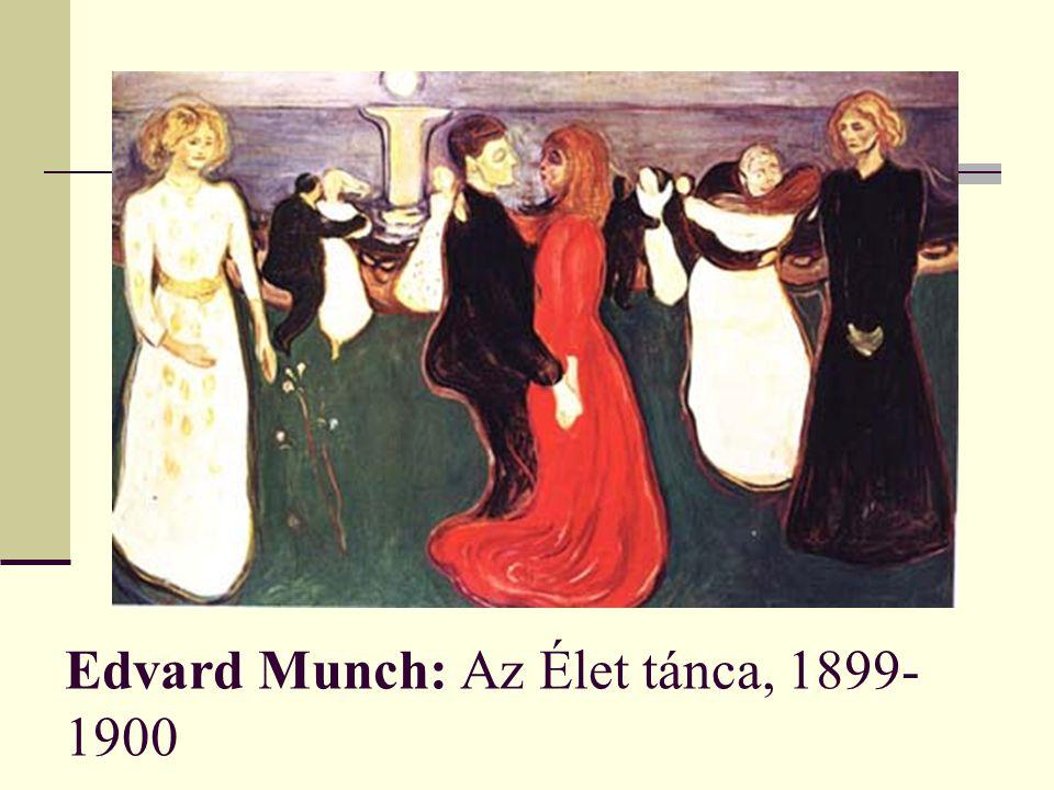 Edvard Munch: Az Élet tánca, 1899- 1900