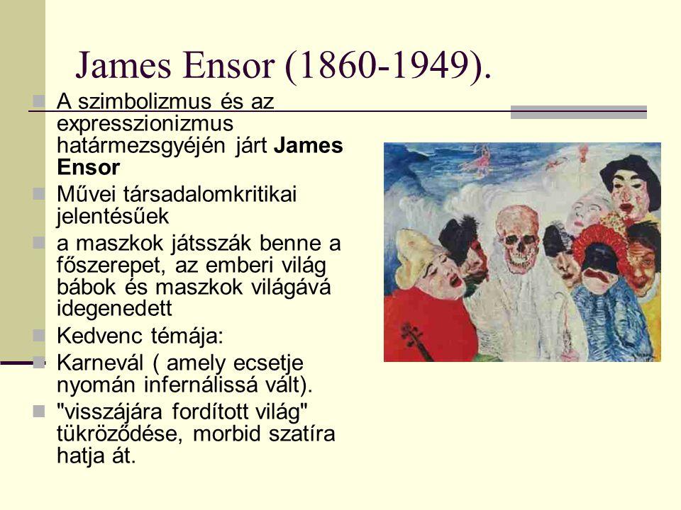 James Ensor (1860-1949).