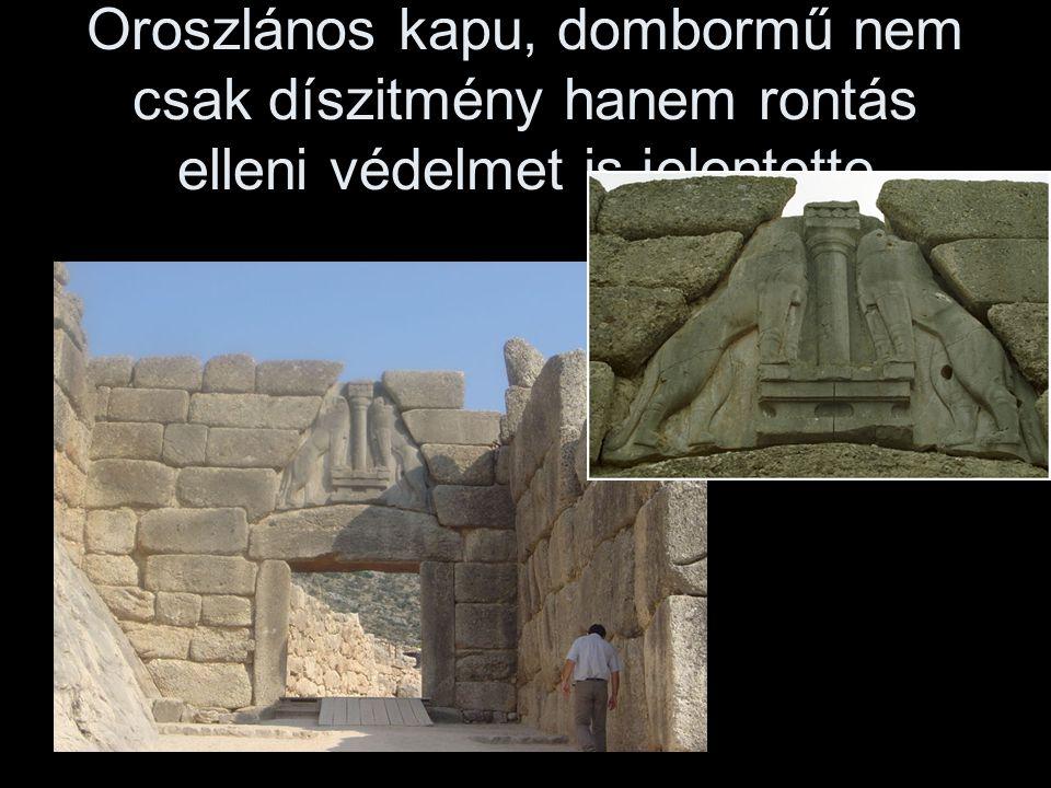 Fellegvár i.e.XIV.század Mükéné