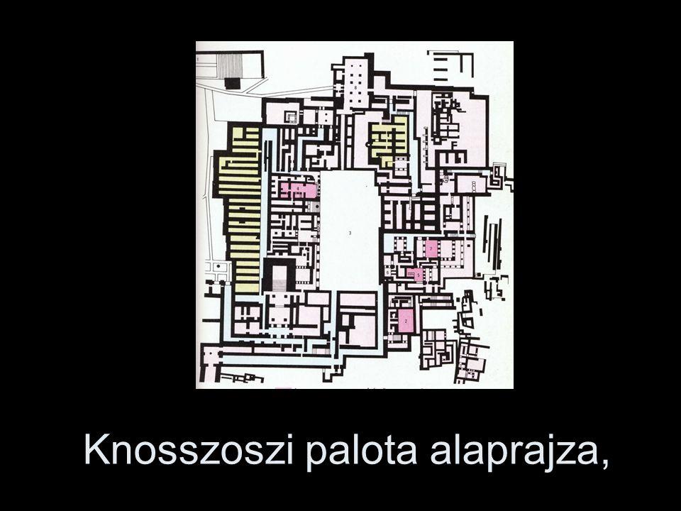Knosszoszi palota alaprajza,