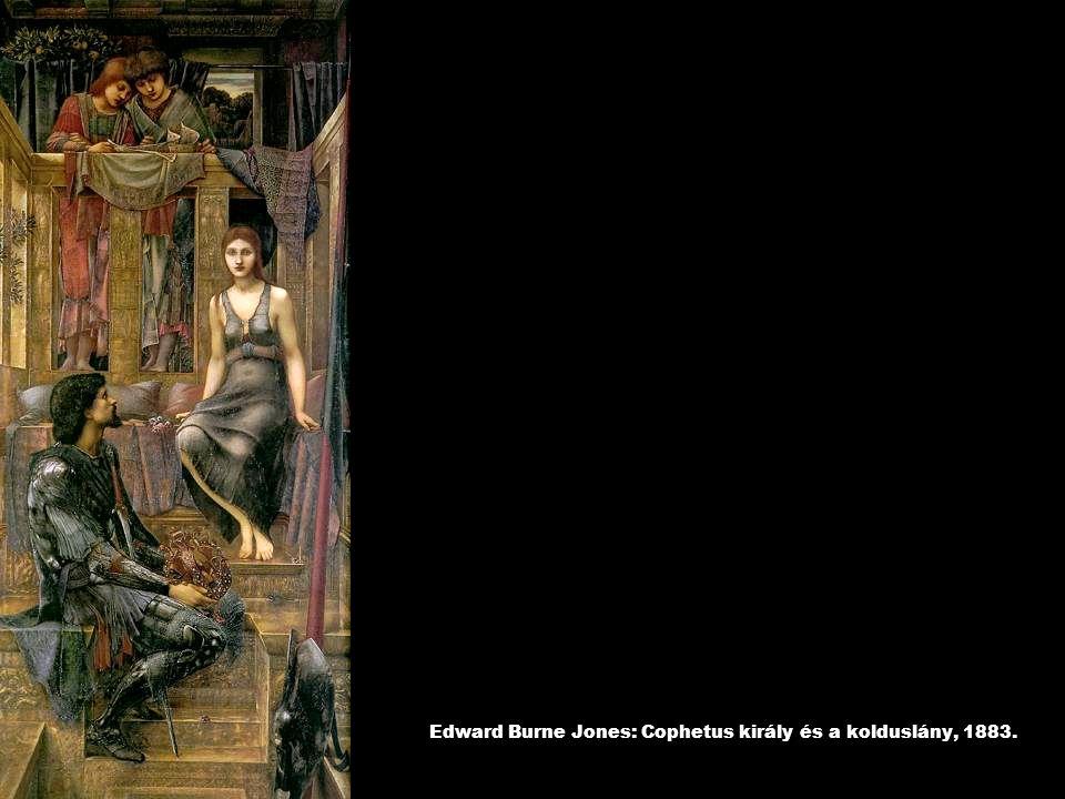 Edward Burne Jones: Cophetus király és a kolduslány, 1883.
