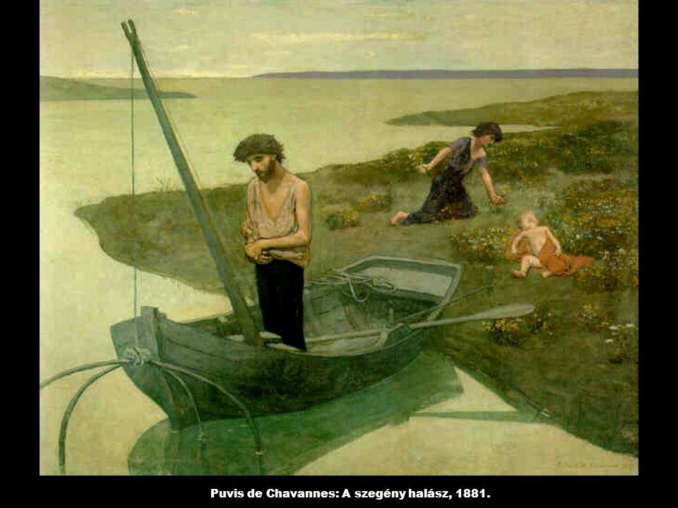 Puvis de Chavannes: A szegény halász, 1881.