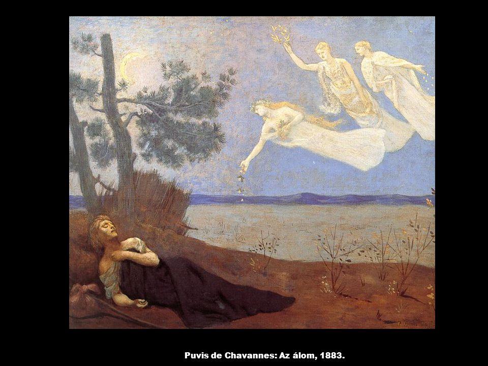 Puvis de Chavannes: Az álom, 1883.