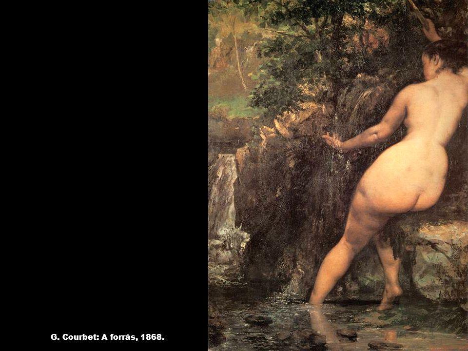 G. Courbet: A forrás, 1868.