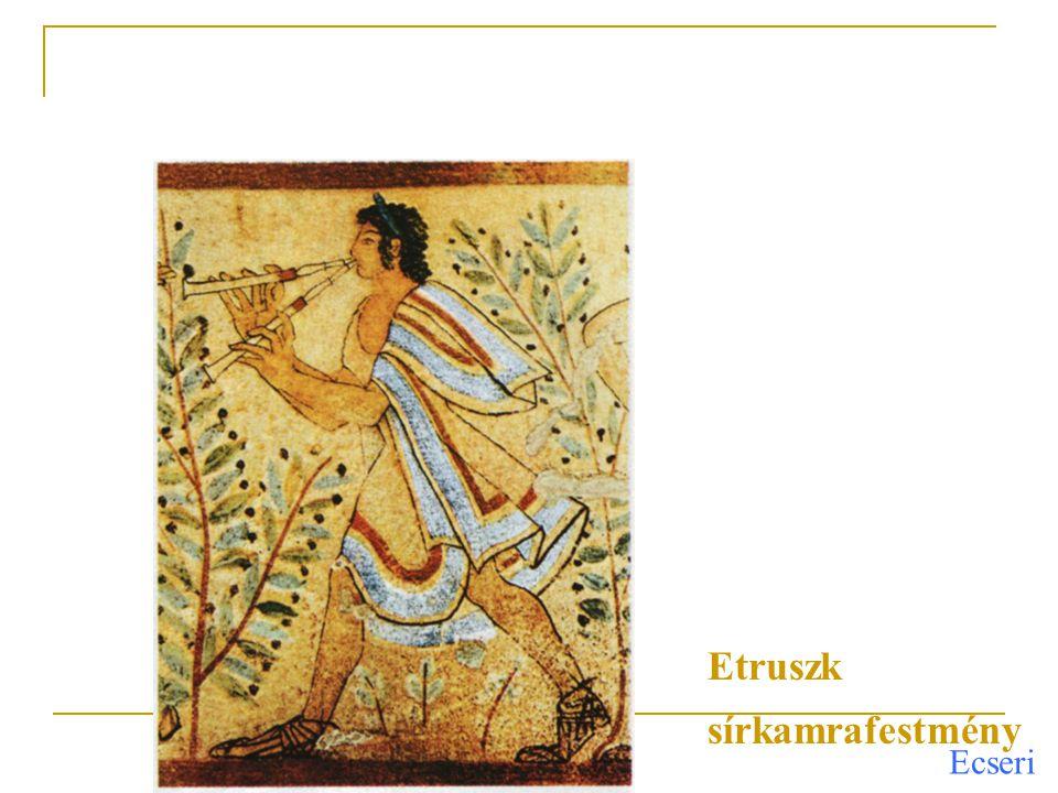 Ecseri Az első század szobrainál és portréinál már érzelemgazdagabb ábrázolás tapasztalható A legnagyobb fokú hasonlóságra, az ábrázolt személy jellemének és egyéniségének kifejezésére törekedtek, a császárkorban a tekintély, a nagyság ábrázolása került előtérbe