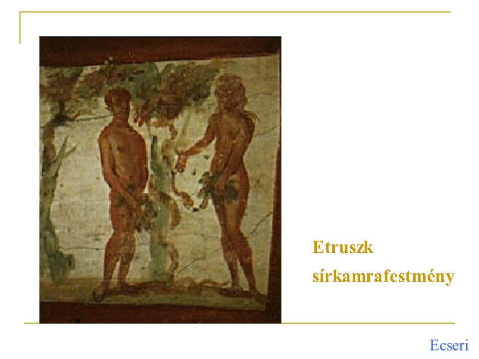 Ecseri Itália középső részén több, egymással rokon nyelvű italicus törzs élt I.e.