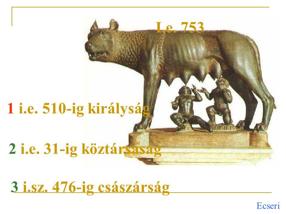 Ecseri Festészet: etruszk és görög hatásra alakult ki, csúcspontját az i.e.