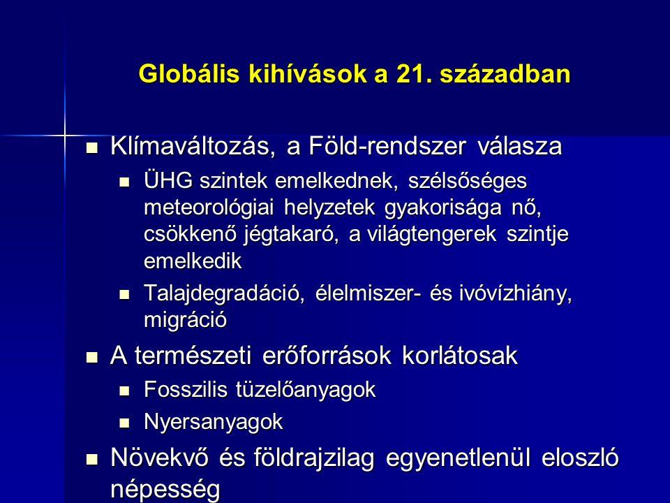 Globális kihívások a 21.