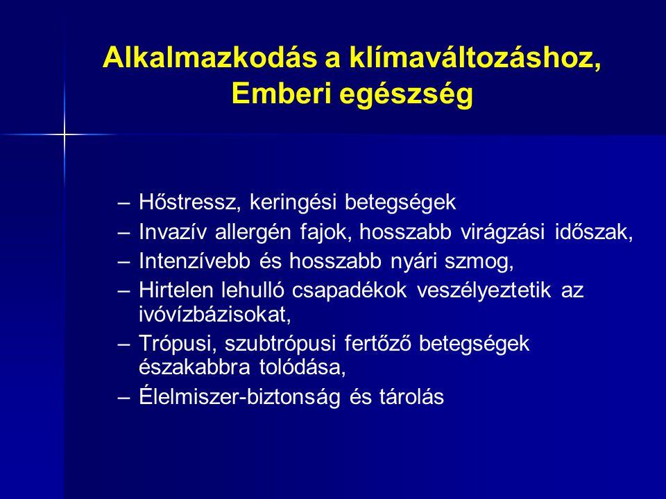CountryEcological footprint of consumption Total biocapacity Ecological deficit or reserve Hungary3.02.2- 0.8 Czech Republic5.72.7- 3.0 Austria5.33.3- 2.0 Slovakia4.12.7- 1.4 Slovenia5.32.6- 2.7 China2.41.2- 1.2 Ökológiai lábnyom és biokapacitás, (szántóföld, legeltetés, erdő, halászat, ÜHG, beépített terület) (ha / fő) Source: Global Footprint Network, 2010
