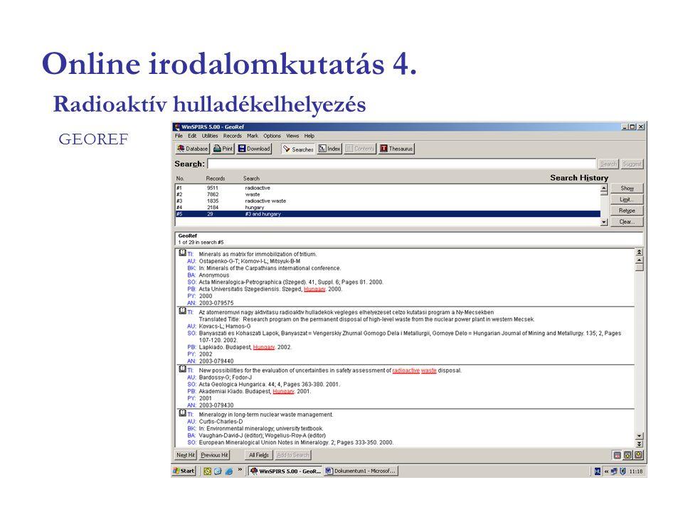 Online irodalomkutatás 15.