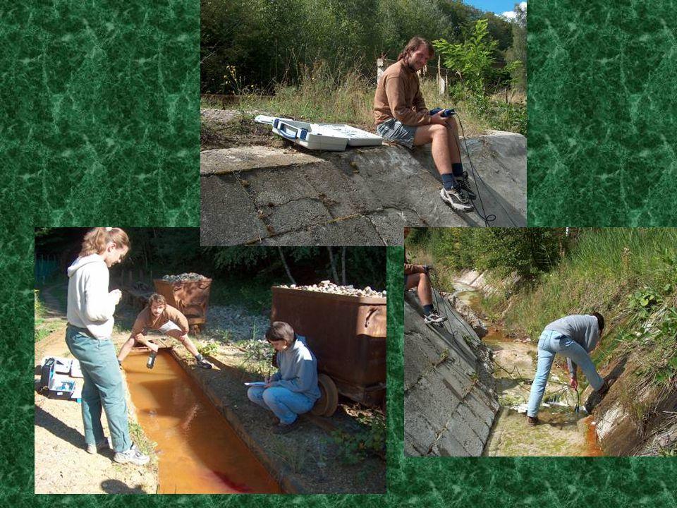 2004. 09. 09. csütörtök Felszíni és felszín alatti vizek mérése Víztározó geofizikai mérése Üledékminta szedés