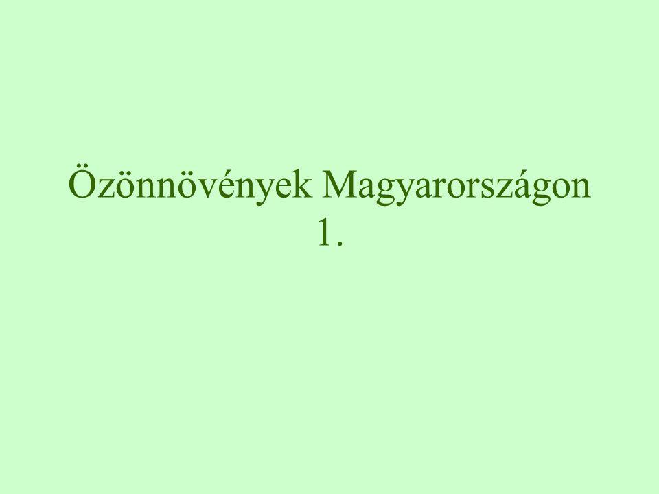 Özönnövények Magyarországon 1.