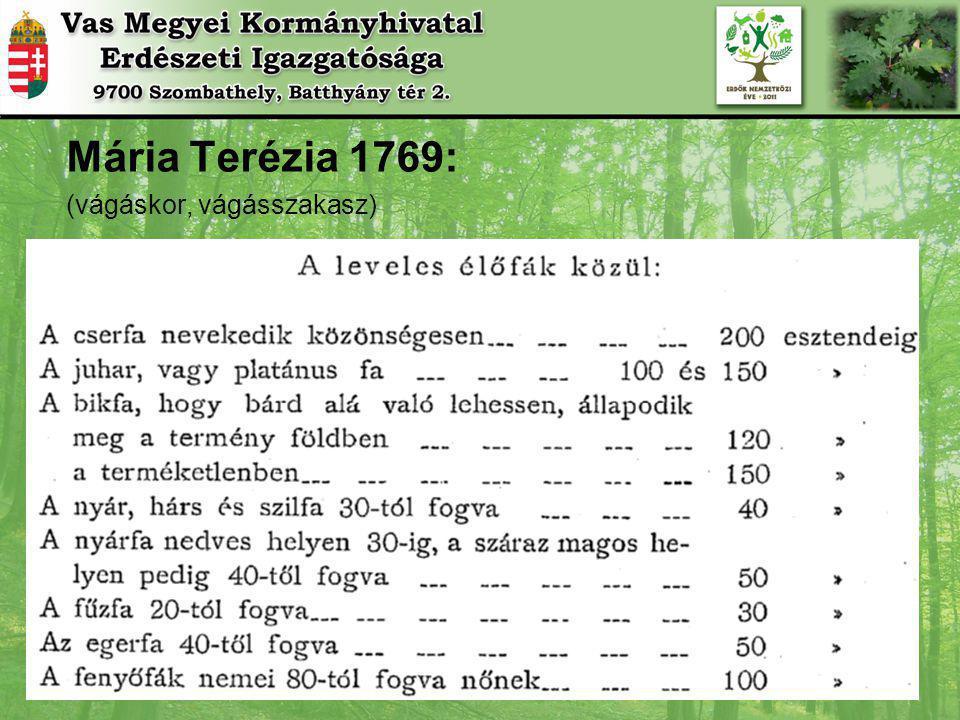 Erdők illetékességi területünkön Győr-Moson-Sopron és Vas megye Közigazgatási illetékességi terület: 733 ezer ha Erdőterület: 167 ezer ha erdővel borított 13 ezer ha egyéb részlet Erdősültség: 24,55 % Fakészlet: 35,5 millió bruttó m 3 212 m 3 /ha Folyónövedék (évenkénti gyarapodás) : 1,2 millió bruttó m 3 Fakitermelés évente: 753 ezer bruttó m 3