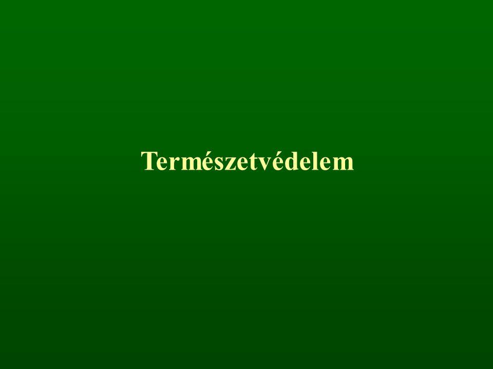 Zuzmók A zuzmófajok veszélyeztetettsége Magyarországon (L ŐKÖS - T ÓTH, 1997) Kipusztult Kritikusan veszélyeztetett VeszélyeztetettSebezhetőÖsszesen 30244445133 a magyarországi lichenoflóra mintegy 700 fajt számlál 260 fajt - az ismeretek hiánya miatt - nem tudtak besorozni a fenti kategóriákba (ritkák) a Földön mintegy 18.000 zuzmófaj él törvényesen védett 8 zuzmófajunk Zuzmók Védelmének Nemzetközi Bizottsága (ICCL)