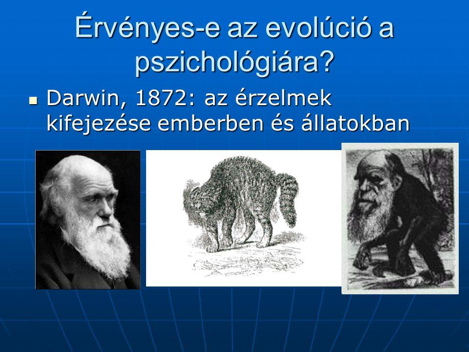 Érvényes-e az evolúció a pszichológiára.