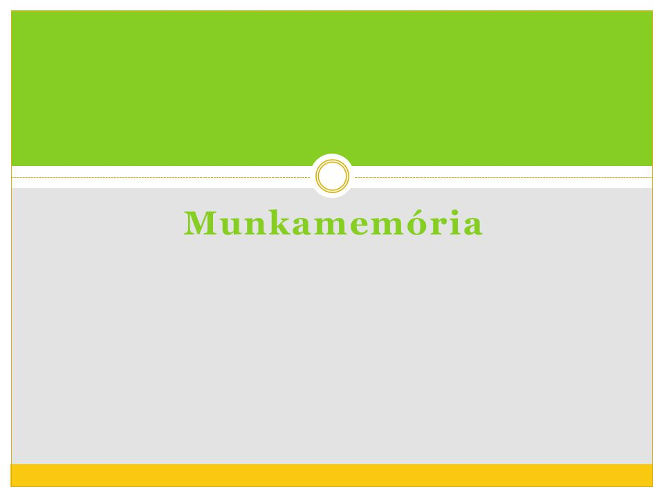 Munkamemória