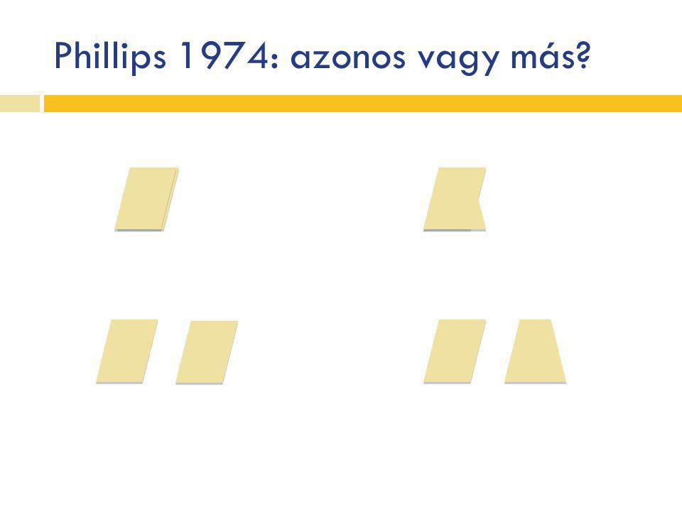 Phillips 1974: azonos vagy más?