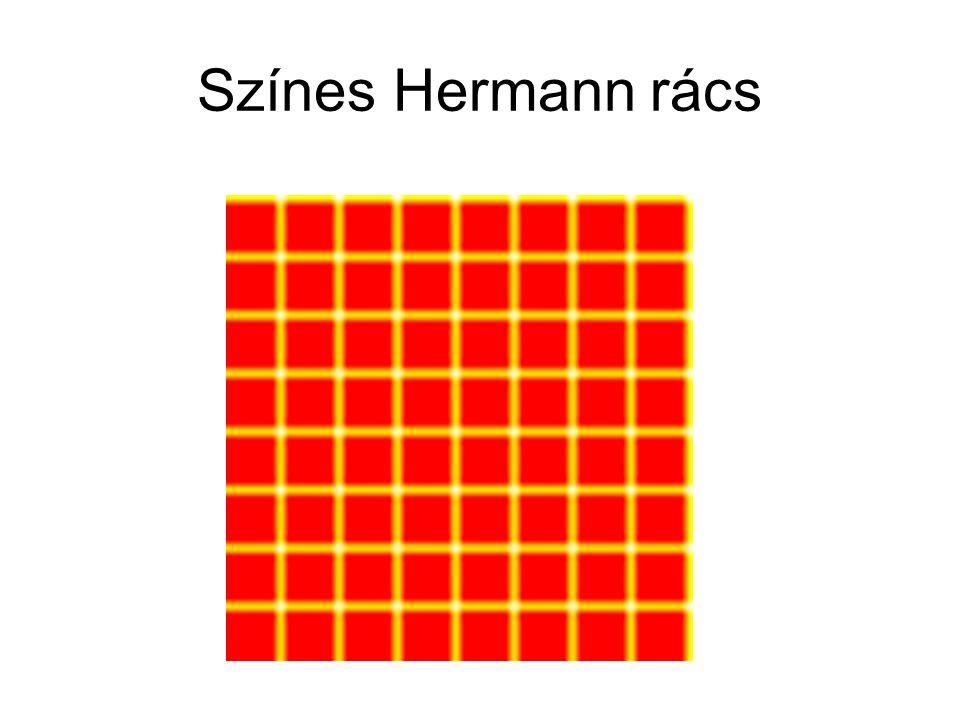 Színes Hermann rács