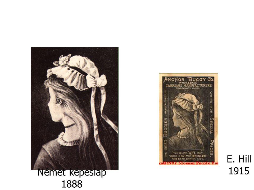 Német képeslap 1888 E. Hill 1915
