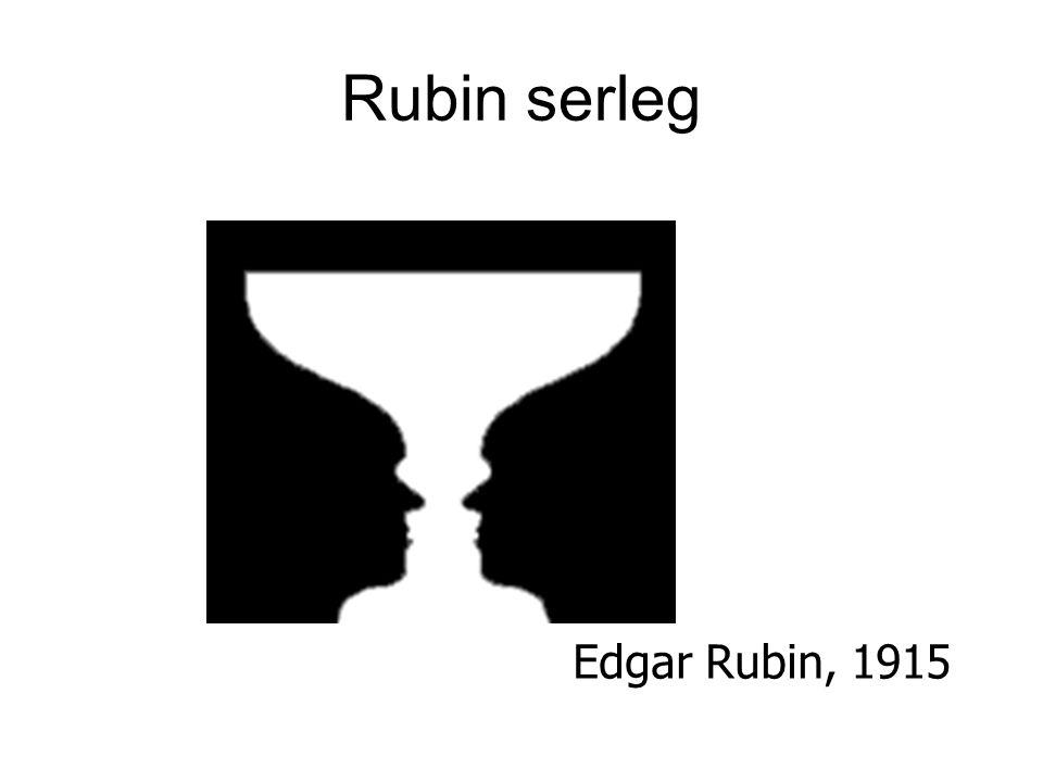 Rubin serleg Edgar Rubin, 1915