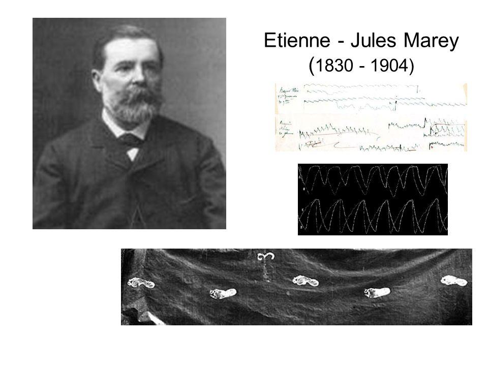 Etienne - Jules Marey ( 1830 - 1904)
