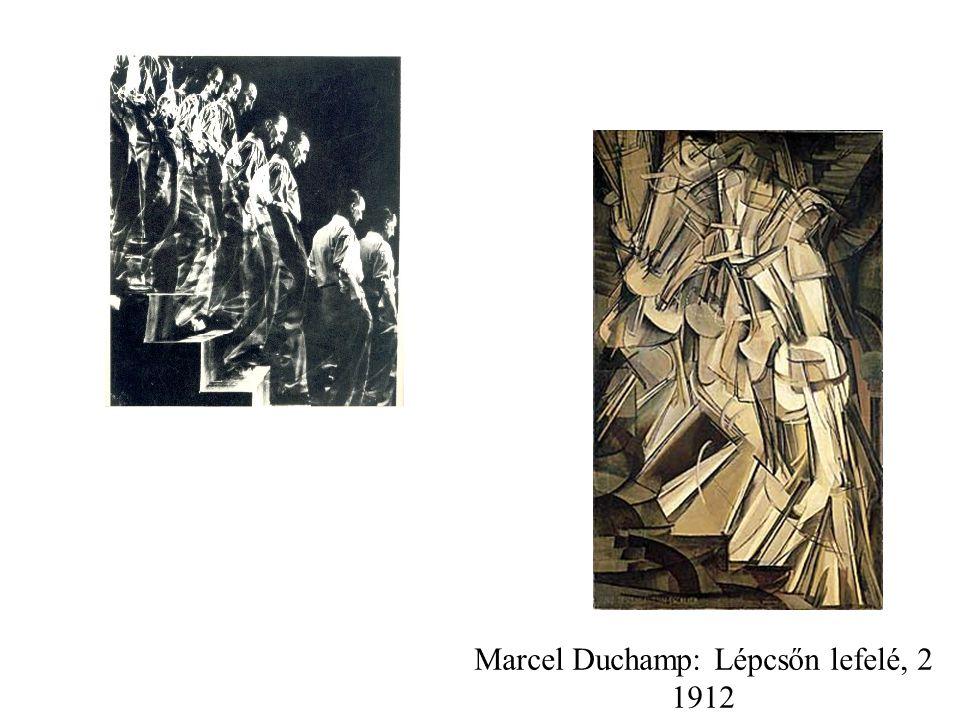 Marcel Duchamp: Lépcsőn lefelé, 2 1912