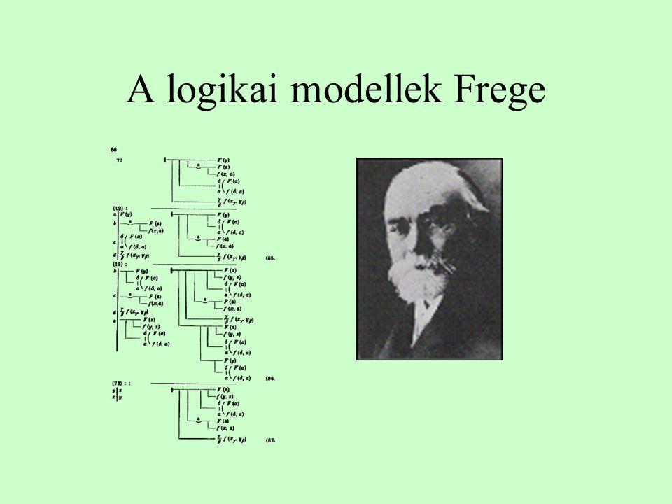 A logikai modellek Frege