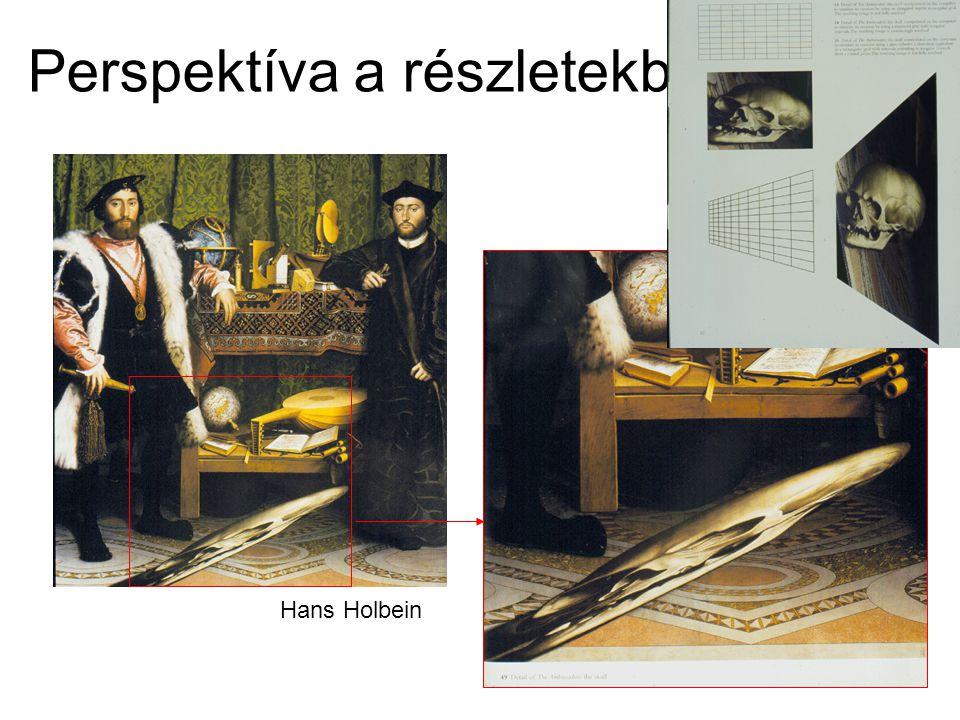 Perspektíva a részletekben Hans Holbein
