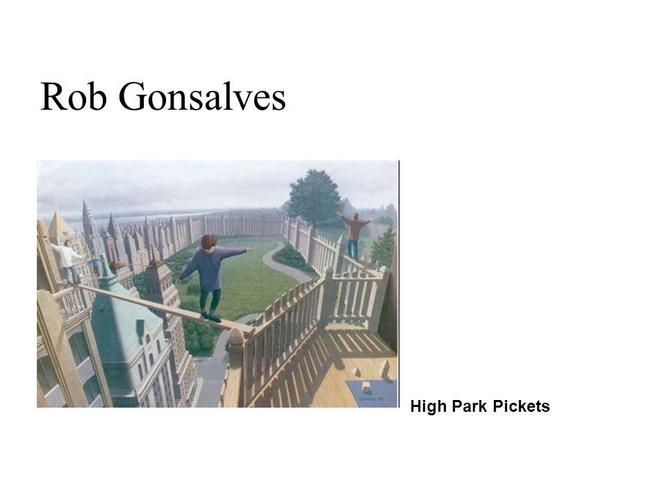 High Park Pickets Rob Gonsalves
